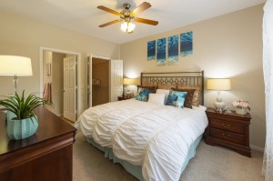 Two Bedroom Apartments for Rent in Northwest Houston, TX - Model Bedroom